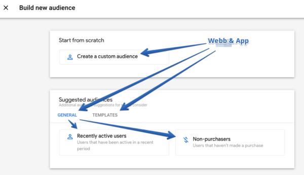 GA app & webb user audiences 1 maxahemsidan-min